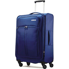 "American Tourister Splash Spin LTE 24"" Blue Spinner Luggage"