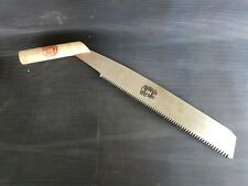"300mm Japanese Cross Cut Pull Saw ""bent handle"" style"