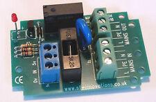 Mains Switch Relay 2: PCB Assembly for Raspberry Pi, Beaglebone, Arduino