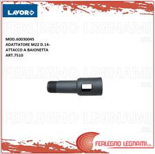 ADATTATORE M22 D. 14 - ATTACCO A BAIONETTA  MOD.60030045 LAVOR ART. 7510