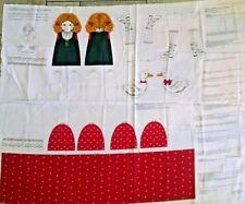 Gretel Storybook Doll Fabric Panel Cranston Print Works