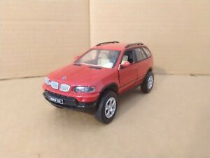 Unbranded BMW X5 in Red. Large Scale. VGC.