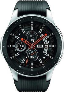 Samsung Galaxy Watch AMOLED Smart Watch 46mm Case Classic Silver/Black SM-R805U