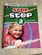 Step By Step Book 2 For Flute With Two CDs By Jaap Kastelein *NEW*