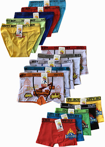 Lot of 5 Boys Seamless Boxer Short Kids Spandex Underwear Boy Briefs