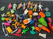 1980's Ghostbusters Lot - Figures Parts Pieces - Look Close -Lot A
