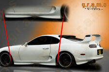 Toyota Supra MKIV OEM Style Side Skirts for Body Kit racing aero v6