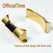 OfficialTime Finest 18ct Gold Plating AK End Link for Rolex Gold Daytona #116528