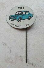 RENAULT R8 France automobilia hat pin lapel tie tac hatpin pins 1960