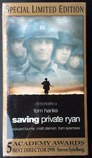 Saving Private Ryan VHS Set of 2 Special Limited Edition NEW NIP Factory Sealed