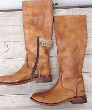 New Bed Stu Tess Tall Brown Leather Boots Windsor Tan Glaze Boot Size: 6.5