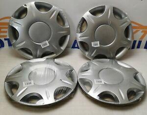 """4 x Aramis Radzierblenden Radkappe Silber 14"""" VO3940001HE011"""