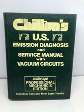 1983 Chiltons Emission Diagnosis & Service Manual Set [Import+American] Set Of 2