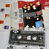 BACKSTREET BOYS 1996 CASSETTE TAPE ALBUM POLAND RELEASE ZOMBA JIVE 90S POP