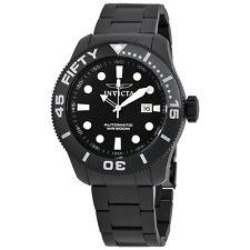 Invicta  TI-22 Automatic Black Dial Black Titanium Mens Watch 20516