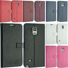 FOR SAMSUNG GALAXY S5 MINI LEATHER CASE BACK COVER FLIP SLIM SMART POUCH G800F