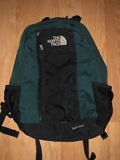 The North Face Mohawk Camping Hiking Day Pack Backpack Book Bag Green - VINTAGE