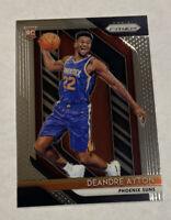 2018-19 Panini Prizm DEANDRE AYTON Base RC Rookie Card #279 - Phoenix Suns