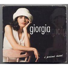 GIORGIA - I primi anni - BOX 2 CD 1998 + MINI POSTER USATO BUONE CONDIZIONI
