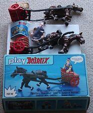 Vintage Astérix Action Figures 6250 Comme neuf chariot de TROTTEURS cheval Coffret 1980