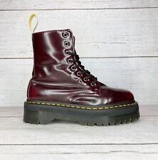 Doc Martens Jadon II Cherry Red Vegan Boots US Women's 9   Men's 8