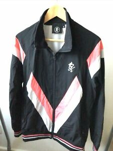 GYM KING SHELL SUIT TYPE FRABRIC TRACK TOP ONLY £26 Medium