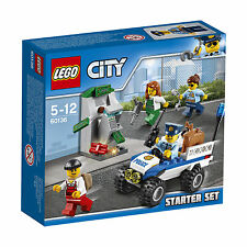 60136 Lego City Police Police Starter Set 80 Pieces Age 5-12 New For 2017!