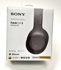 Sony WH-H900N h.ear on 2 Bluetooth Noise Canceling Stereo Headphones - EXCELLENT