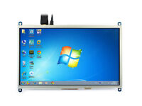 "10.1"" HDMI LCD I/Os for Raspberry PI Resistive Touch 1024×600 Backlight Control"