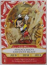 Disney Sorcerers of the Magic Kingdom Card 32 Pinocchio's Sawdust Blast New