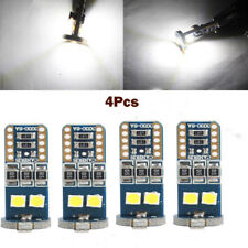 4Pc T10 6SMD 3030 LED Car Side White Light Lamp Wedge Bulb Super Bright New