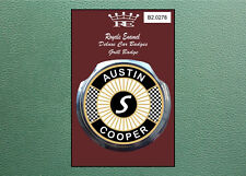 Royale Classic Car Grill Badge & Fittings AUSTIN MINI COOPER S B2.0278