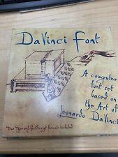 DaVinci Fonts Package  By P22 ( Mac -Windows) NY, USA