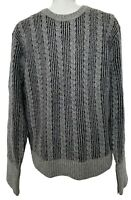 BROOKS BROTHERS BLACK FLEECE MEN'S GRAY CREW NECK SWEATER, BB2, $600