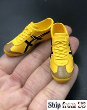 1/6 scale YELLOW Sneakers Shoes HOLLOW for 12'' Female Action Figure Accessories