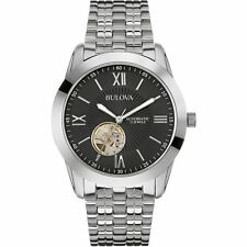 Bulova Mechanical (Automatic) Stainless Steel Strap Watches