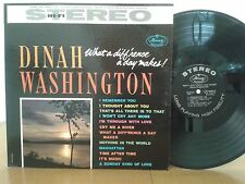 Dinah Washington,What A Diff'rence A Day Makes,Mercury SR60158,1st,Jazz Vinyl LP