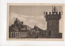 San Marino Dal Terrazzo del Palazzo e Tre Torri Vintage Postcard 329b
