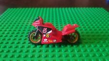 City Town Catwoman Lego MOTORCYCLE for Minifigures to Ride PURPLE
