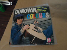 Donovan Colours Pye France Import 45 w/ Picture Sleeve