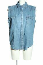 JEANAGERS Jeansweste blau Casual-Look Damen Gr. DE 40 Weste Vest Baumwolle