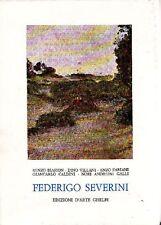SEVERINI - Biasion Renzo, Villani Dino, Fabiani Enzo, et al., Federigo Severini