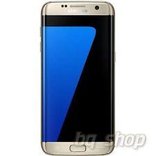 Samsung Galaxy S7 Edge G9350 Dual Sim Gold 32GB 4GB RAM Octa-core Phone By FedEx