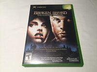 Broken Sword: The Sleeping Dragon (Microsoft Xbox) Original Complete Nr Mint!