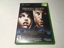 Broken Sword: The Sleeping Dragon (Microsoft Xbox) Original Complete Nr Mint!