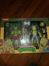 NECA Teenage Mutant Ninja Turtles - Rasputin and Genghis Frog 7in. Action...