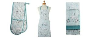 Cooksmart Christmas Frosty Winter Morning, Oven Glove, Tea Towels Or Apron