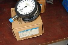 "Ashcroft 45-1189-S,General Service Gauge, 4 1/2"", 1/2"" Npt, 0-15"" Hg New in Box"