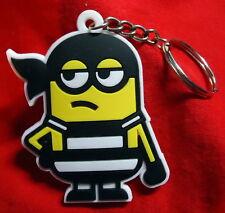 Bob prisionero/Bad Boy-minions-goma llavero/Rubber keychain