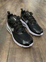 Womens Nike Air Max 270 REACT Black White Silver $150 CT3426-001 7 7.5 8 NEW 90